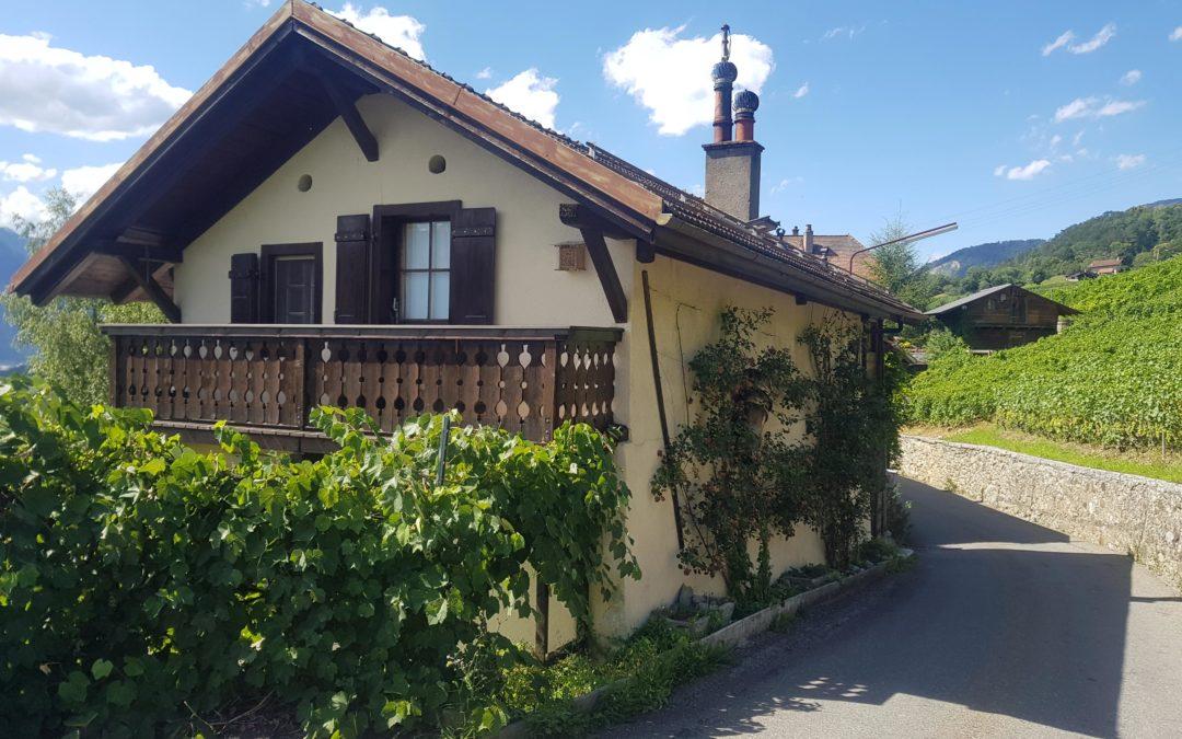 Maison vigneronne à Ollon